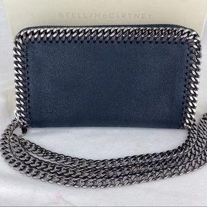 Stella McCartney Chain Zip Wallet on Chain